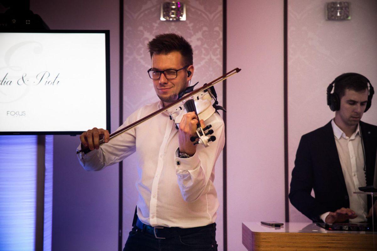 Skrzypek i DJ na weselu - Śląsk